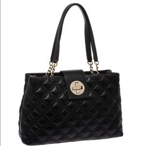 kate spade Bags - Kate Spade Astor Elena Court Quilted Leather Tote